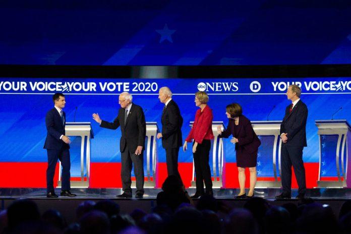 Usa 2020 - 269 - dibattito - Manchester - repulisti