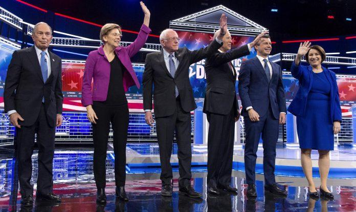 Usa 2020 - 257 - dibattito - democratici - Las Vegas