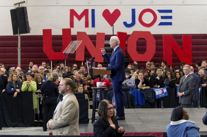 Usa 2020 - 237 - Biden - Michigan - nomination
