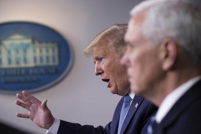 Usa 2020 - 226 - Trump - emergenza - coronavirus