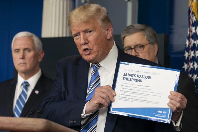 Usa 2020 - 224 - Trump - pandemia