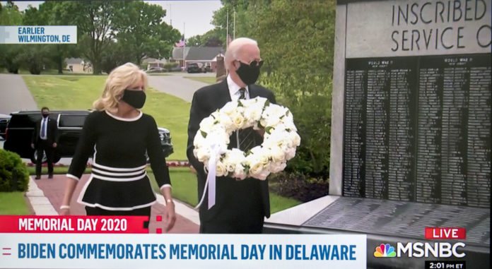 Usa 2020 - 161 - Biden - Memorial Day - Trump - Charlotte