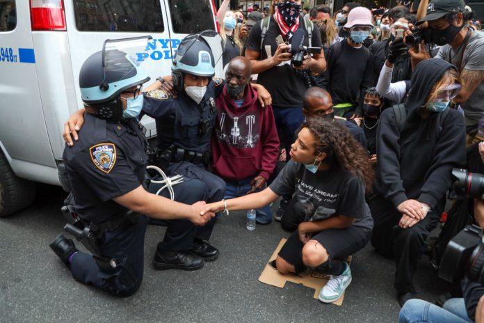 Usa 2020 - 153 - tensioni - proteste - NY