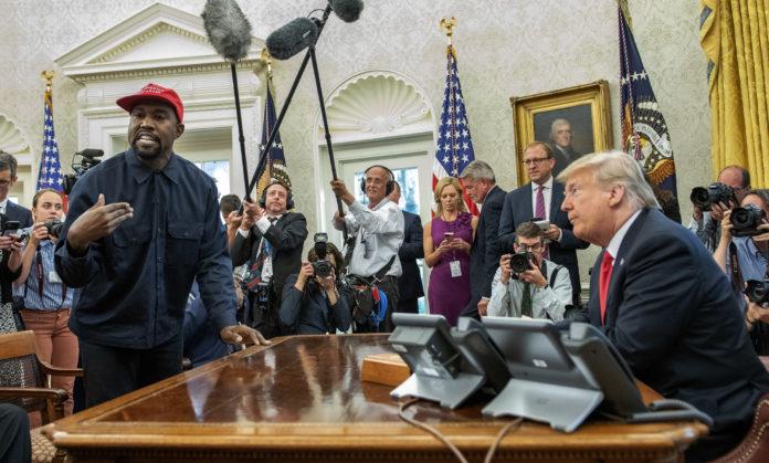 Usa 2020 - 120 - Kanye West - Trump