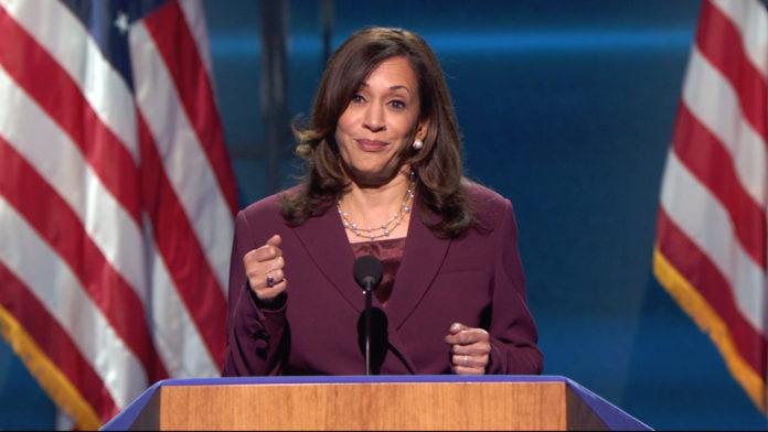 Usa 2020 - 75 - convention democratica - Harris - Obama