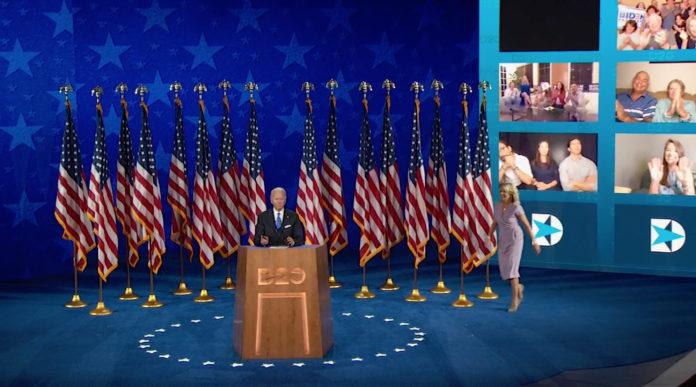 Usa 2020 - 74 - convention democratica - Biden