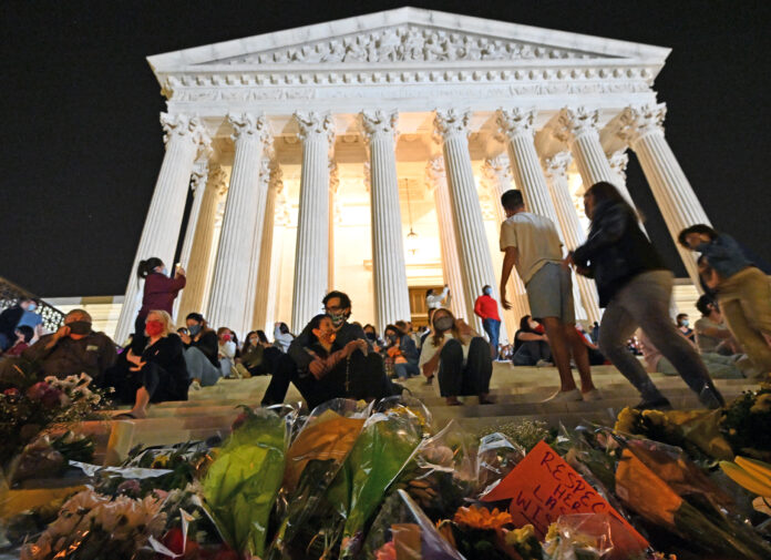 Usa 2020 - 44 - Corte Suprema - Ginsburg