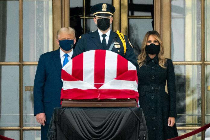 Usa 2020 - 39 - Trump - Ginsburg - passaggio dei poteri