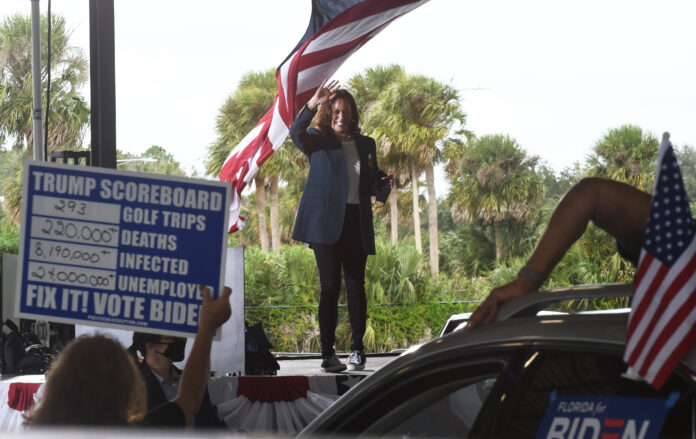 Usa 2020 - 14 - Harris Florida - microfoni spenti