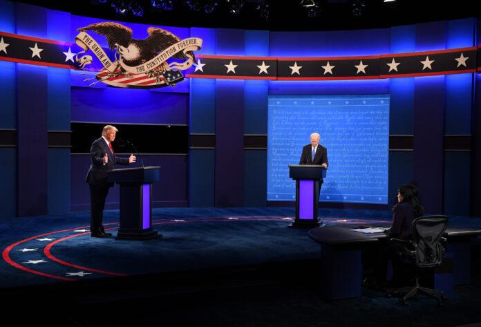 Usa 2020 - 11 - dibattito - Trump - Biden