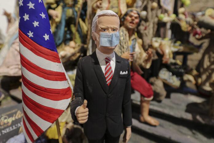 Usa 2020 - Biden - presepio