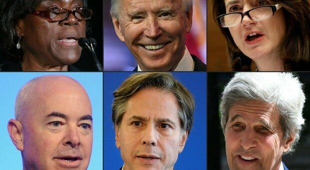 Usa 2020 - Biden - squadra