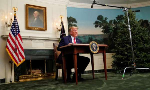 Usa 2020 - Trump - mini-scrivania