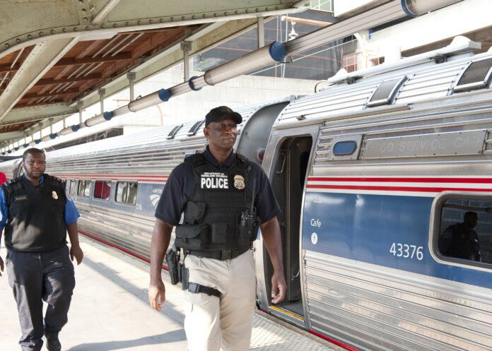 Usa 2020 - Biden - treno - Washington