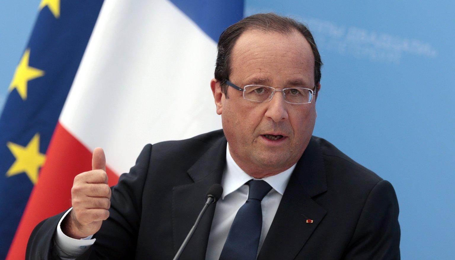 Hollande e la libia