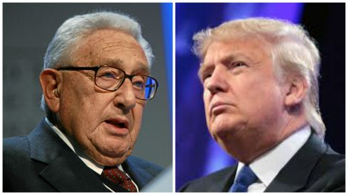 Kissinger e trump politica estera