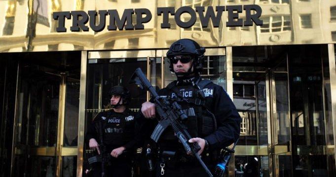 Secret Service - Trump Tower