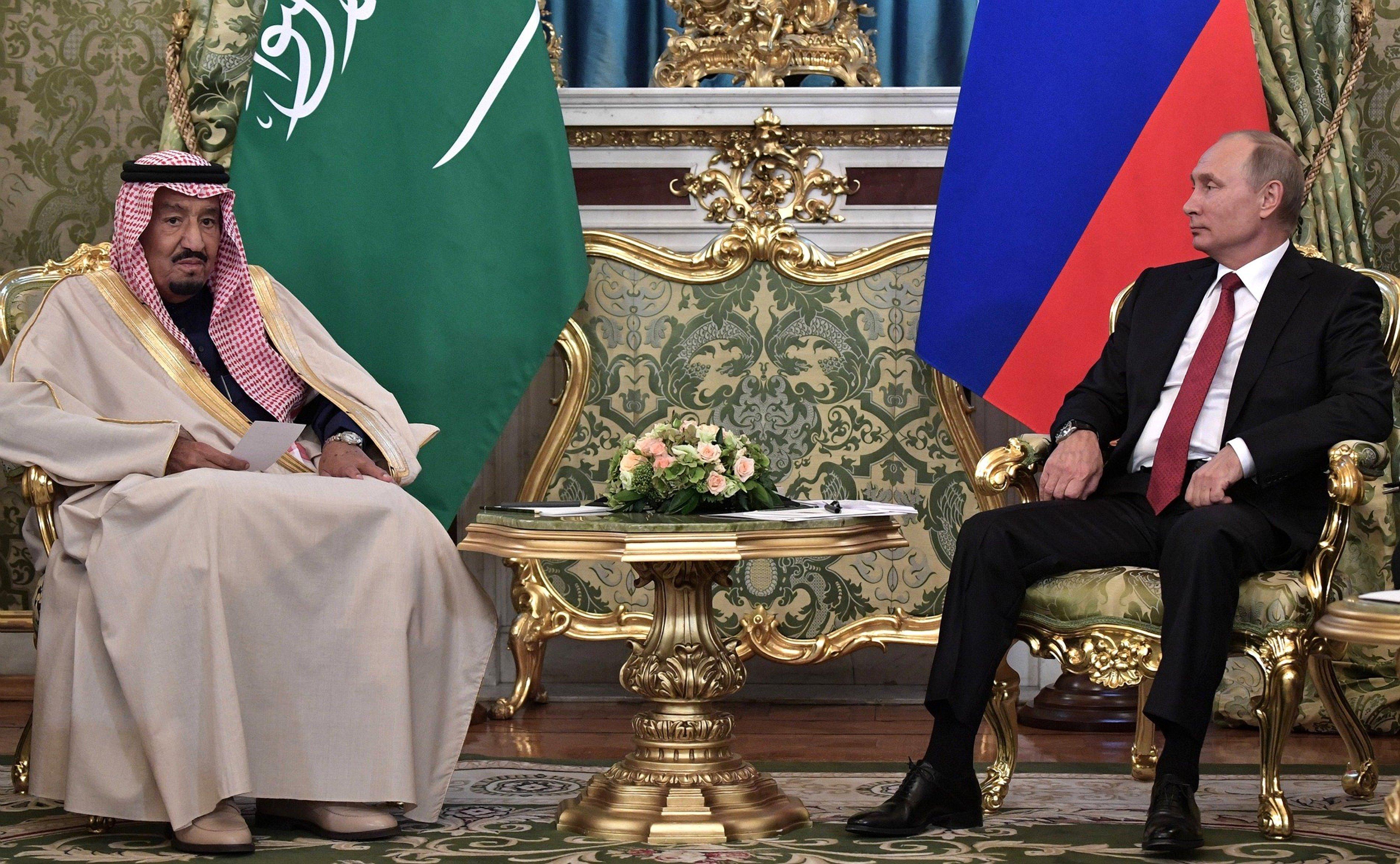 Salman - Putin