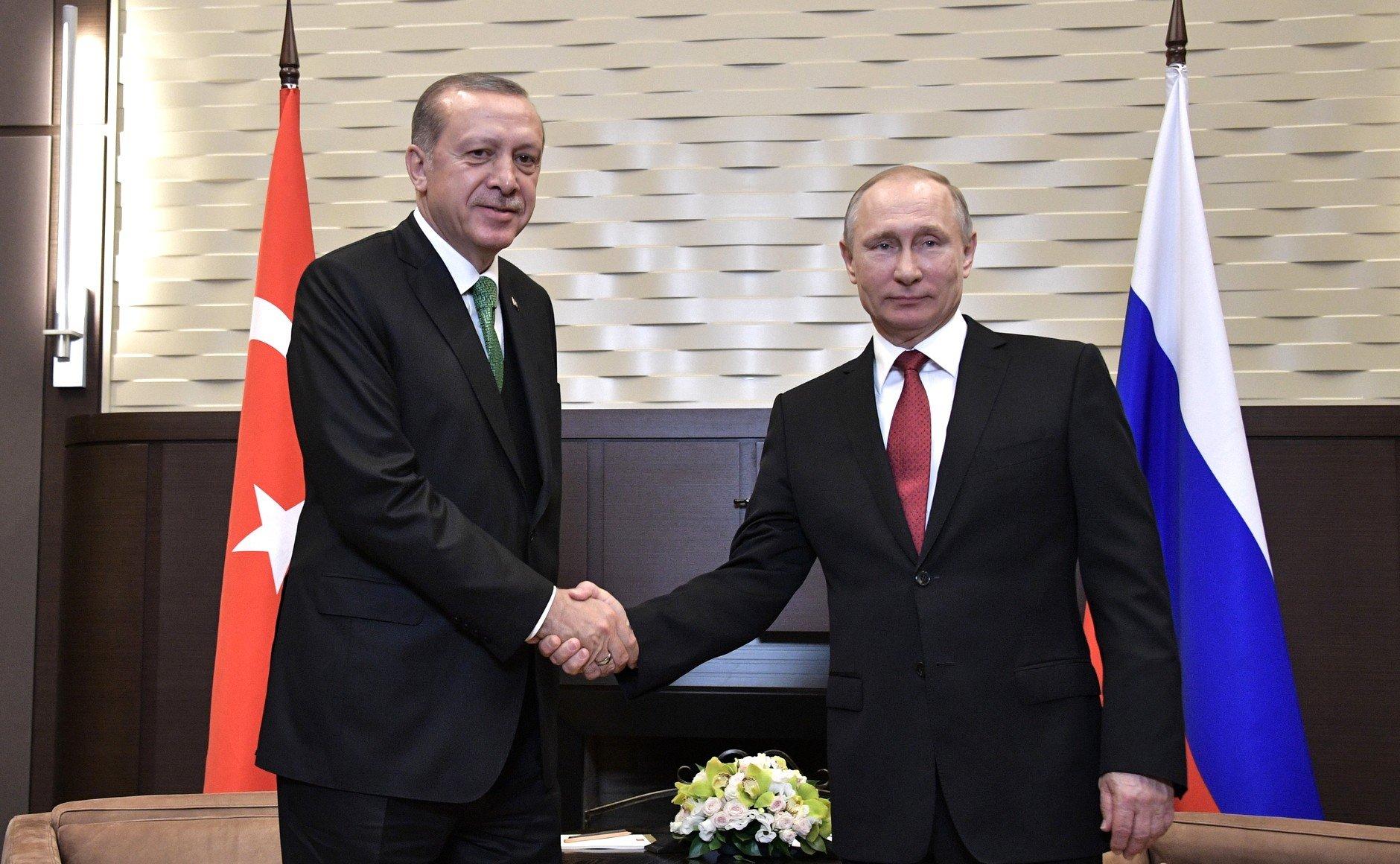Erdogan - Putin - Sochi