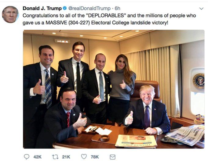 Trump - un anno dopo - America