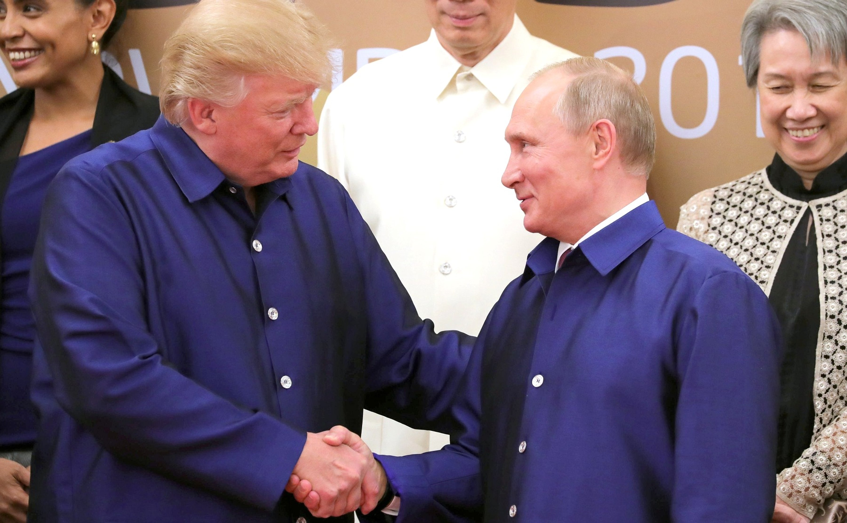 Apec - Trump - Putin