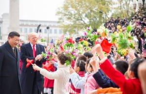 Trump in Cina con Xi