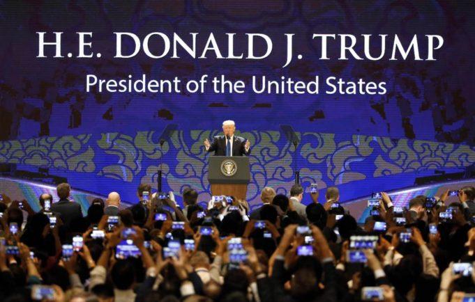Trump - Asia - un anno dopo