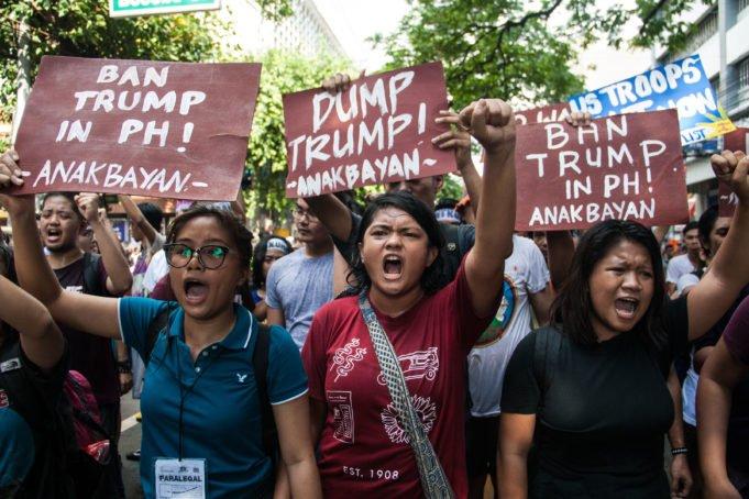 Trump -Asia - Filippine