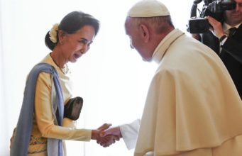 Papa - Birmania - San suu Kyi