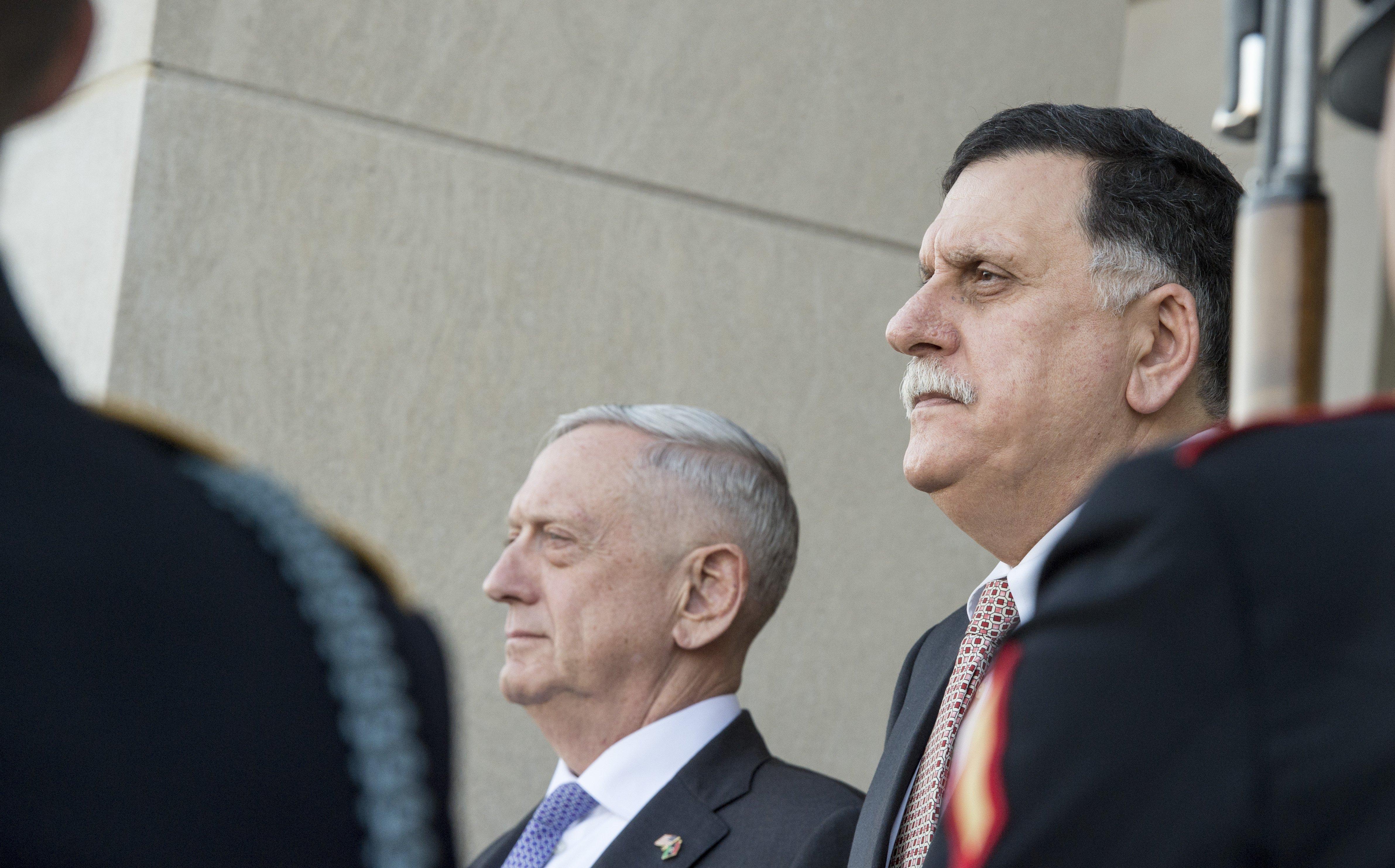 Libia - Serraj - Mattis