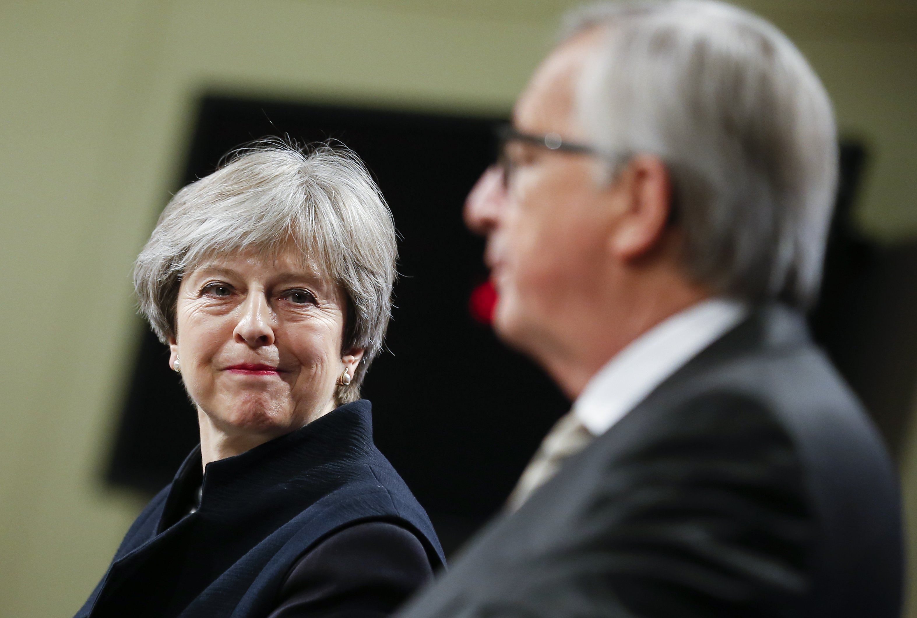 Brexit - May - Juncker