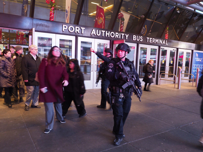 New York - Port Authority - terrorismo