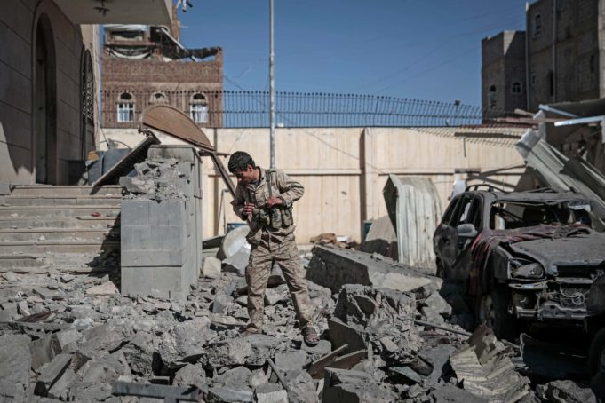 Yemen - raid - Huthi