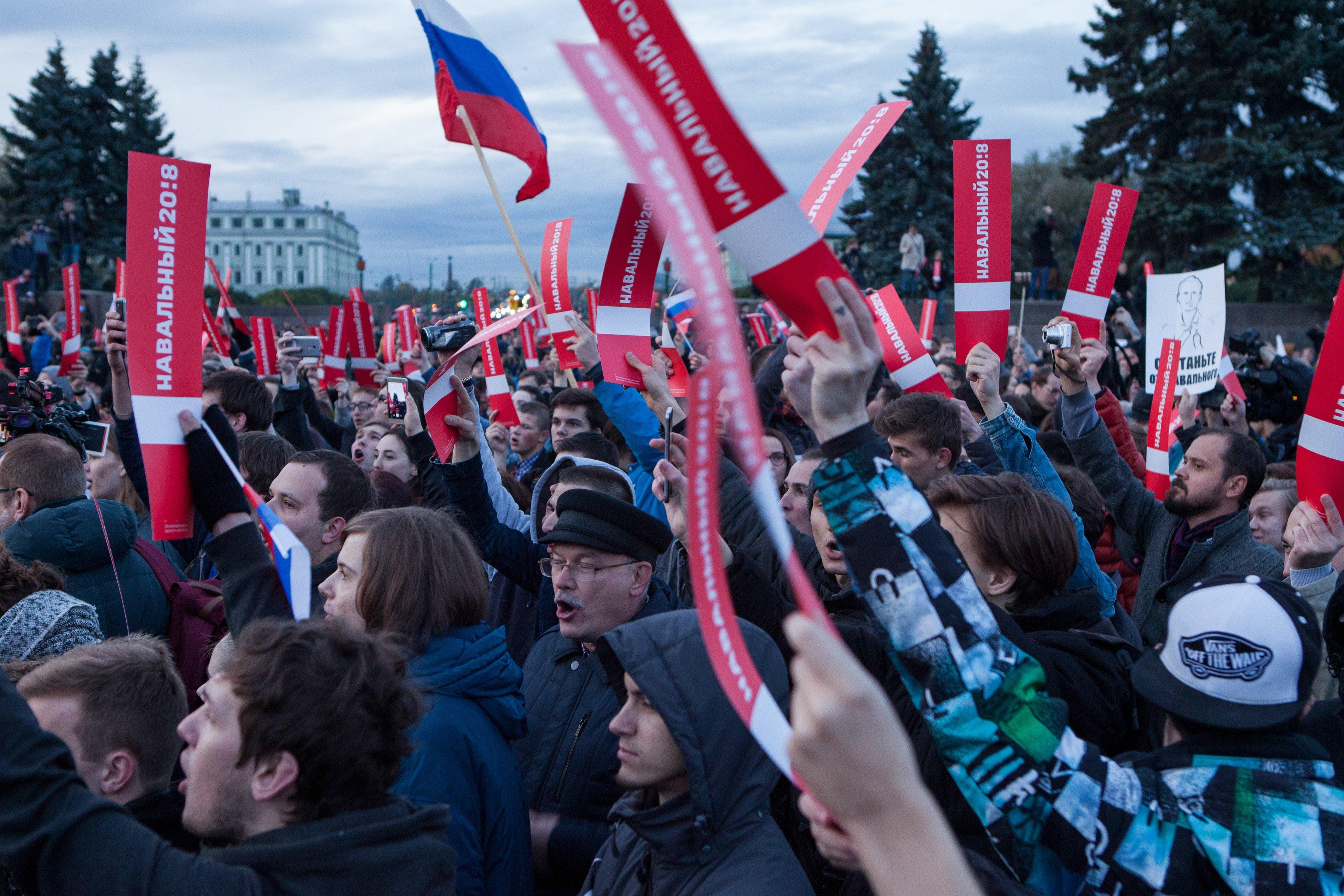 Russia - Putin - navalny
