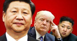 Corea - Xi - Trump - Kim