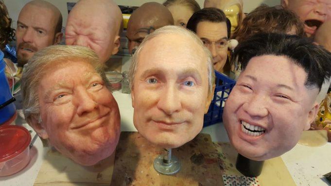 presidente - Trump - Putin - Kim