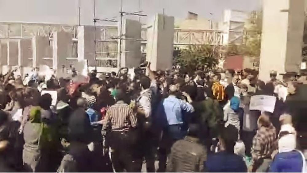 Iran - proteste - Kim