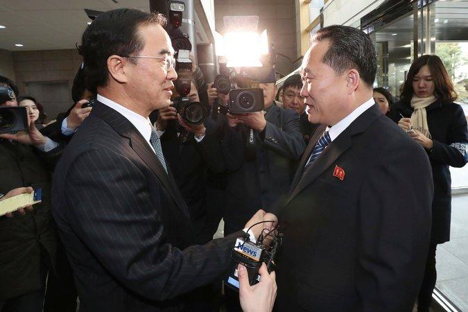 Corea - tregua - incontro