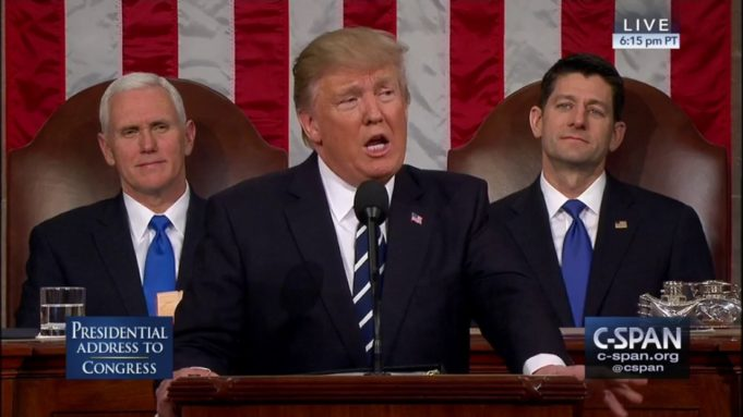 Trump - discorso -sotU