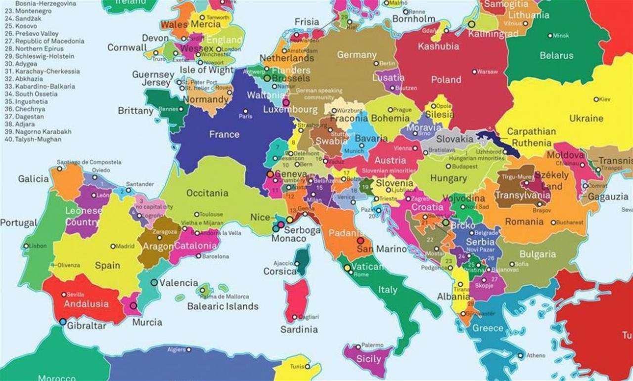 Cartina Europa Economica.Esteri Europa Divisa Sogno O Son Desto Giampiero Gramaglia