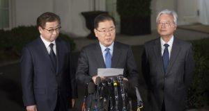 Corea - Chung - Trump - Kim - pace