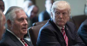 Usa - Trump - Tillerson