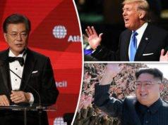 Corea - Moon - Kim - Trump