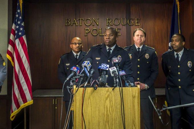 Baton Rouge - polizia- Sterling - neri