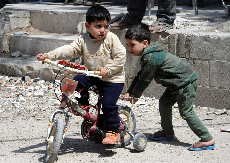 Siria - guerra - Twitter