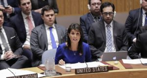 Nikki Haley - Onu - Usa