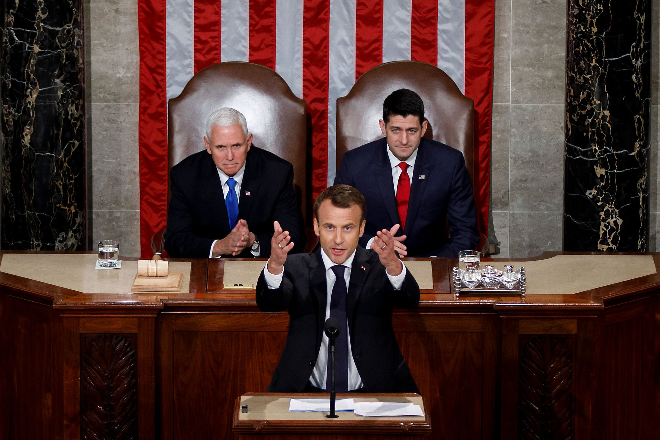 Macron - Usa - Congresso