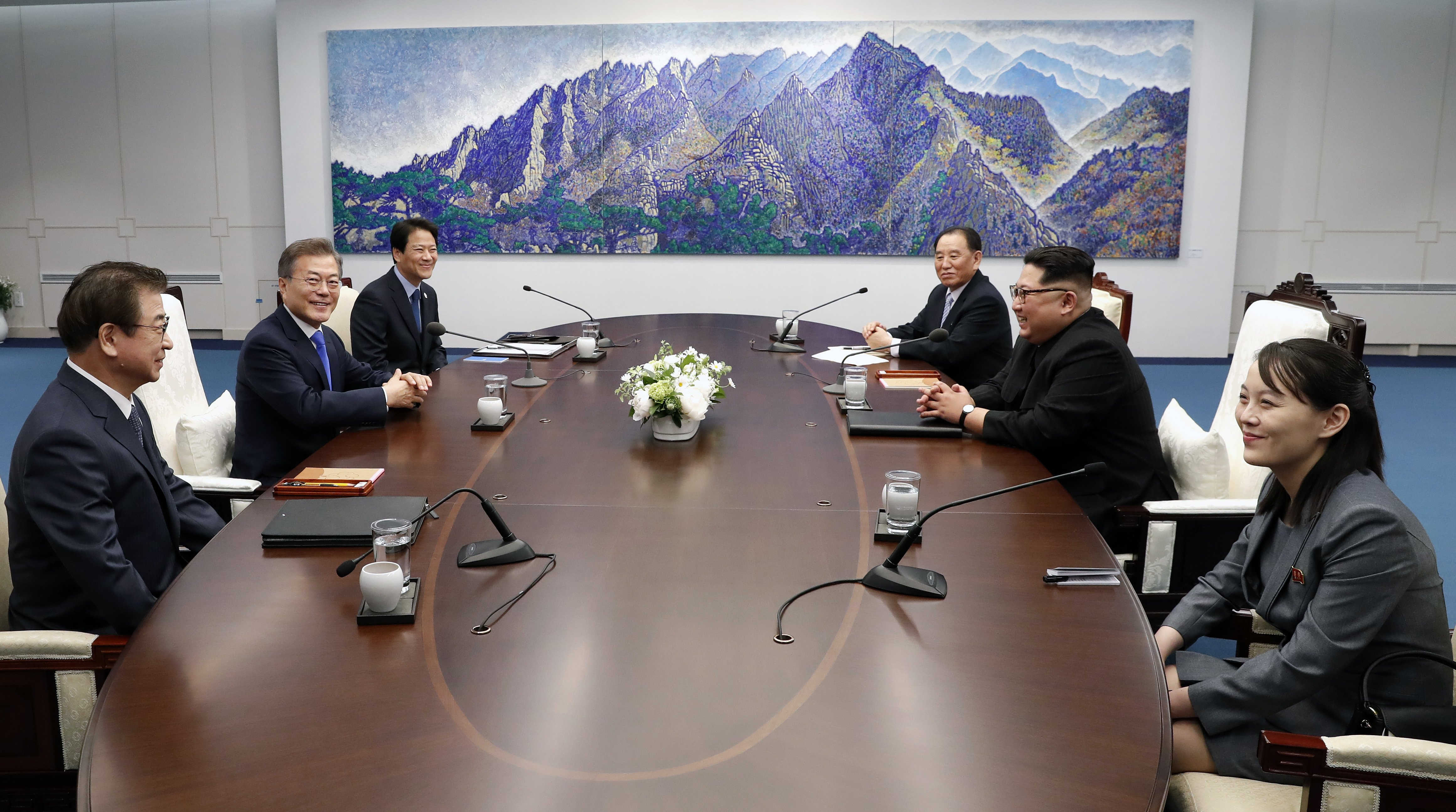 Corea - Vertice - Kim - Moon - pace