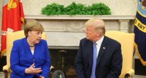 dazi - Iran - Merkel - Trump