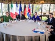 Ue - Conte - Macron